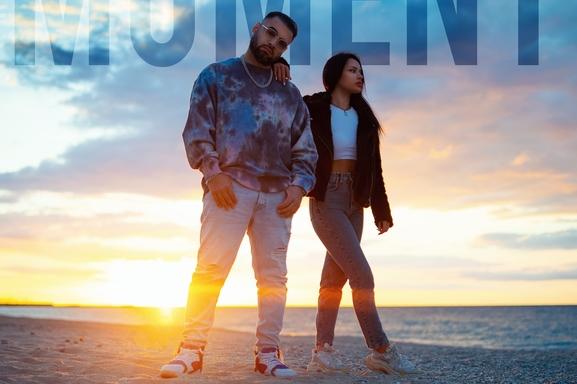 """DJ R'AN sort en plein """"Moment"""", un nouveau son pour le DJ avec une note différente du reggaeton habituel, il semblerait que cette fois la musique """"Urban hit"""" laisse place au romantisme ?"""