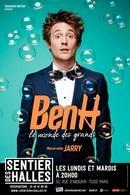"""Ben H est au Point Virgule avec son One Man Show """"Le monde des grands"""", vous connaissez le chroniqueur, l'humoriste est hilarant!"""