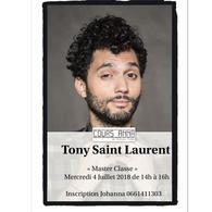 Une Master Class avec Tony Saint Laurent, ça vous dit ? On vous invite aux cours Anna avec Casting.fr