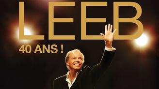 Michel Leeb fête ses 40 ans de carrière avec un show swing et joyeux...Un cadeau pour son public!