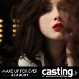 Gagnez une formation maquillage chez Make up For ever Academy avec Casting.fr