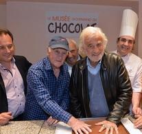 Le musée gourmand du chocolat, vous connaissez? Casting.fr a participé à son inauguration en présence de Jean-Paul Belmonde et Nicoletta... On vous raconte tout!