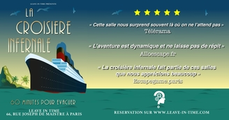 LEAVE IN TIME: L'ESCAPE GAME INCONTOURNABLE