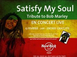 Bob Marley à l'honneur au Hard Rock Café le mercredi 17 février