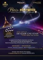 Concours Paris Hollywood : Nouveaux talents tous domaines confondus avec Casting.fr