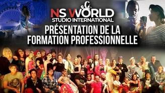 Formez vous chez NS WORLD studio à la comédie musicale! Casting.fr vous offre des cours d'essai.