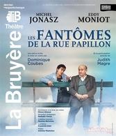 """""""Les Fantômes de la rue Papillon"""" un spectacle générationnel entre Michel Jonazs et Eddy Moniot au Théâtre la Bruyère"""
