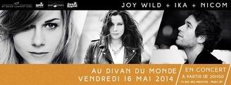 Concert exceptionnel My Major Company avec Nicom, Ika et Joy Wild au Divan du monde !