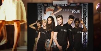 """""""Fashion Tour"""", la finale du grand concours nationale de mannequins au Pavillon Wagram"""