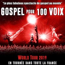 """Auditions chanteurs H/F bon niveau pour tournée """"Gospel pour 100 voix"""" saison 2020/2021"""