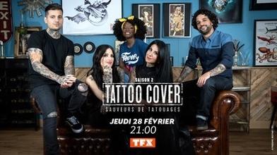 Recherche h/f tatoués pour la saison 3 de l'émission tatoo cover sur TFX