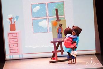 """PETIT OURS BRUN, LE SPECTACLE"""" un spectacle musical, adapté au cinéma pour le plus grand bonheur des petits et des grands."""