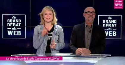 Chroniqueuse DEMAIN TV - LE GRAND DEBAT DU WEB - Le grand Mot du Web