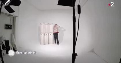 """magazine TV """"C'est au Programme"""", France 2"""