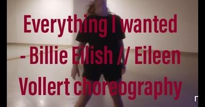 Billie Eilish - everything I wanted // Eileen Vollert Choreography